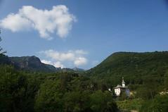 Manastirea Turnu si creasta Cozia