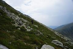 Off-trail pe sub Curmatura Tiganului