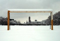 Munich's Most Photographed Soccer Goal