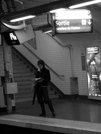 métro lecture odéon