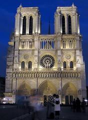 A classic Notre Dame de Paris