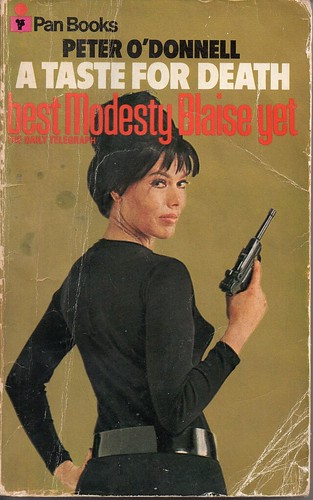 Modesty Blaise: A Taste For Death [front]