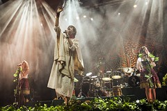 """Crystal Fighters - Sant Jordi Club - Toni Rosado - 2 - IMG_3150 • <a style=""""font-size:0.8em;"""" href=""""http://www.flickr.com/photos/10290099@N07/30735635274/"""" target=""""_blank"""">View on Flickr</a>"""