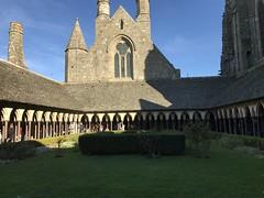 Cloître de l'Abbaye du Mont Saint Michel