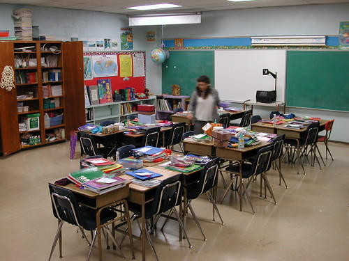 New Classroom by Flickr user Editor B