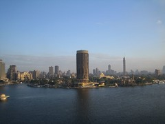 Cairo skyline in the morning