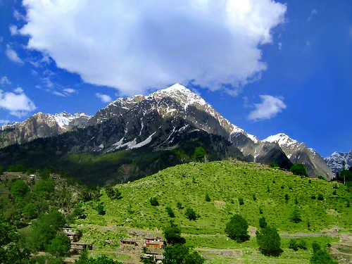 Beautiful Mountains Of Swat Valley