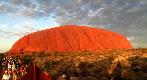 Australia's red centre (Photography by hekris on Flickr)