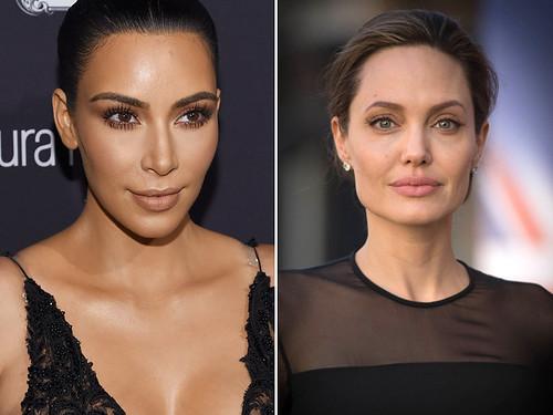Kim Kardashian e Angelina Jolie fizeram a bichectomia