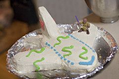 Snakes on a Plane! (The Cake)