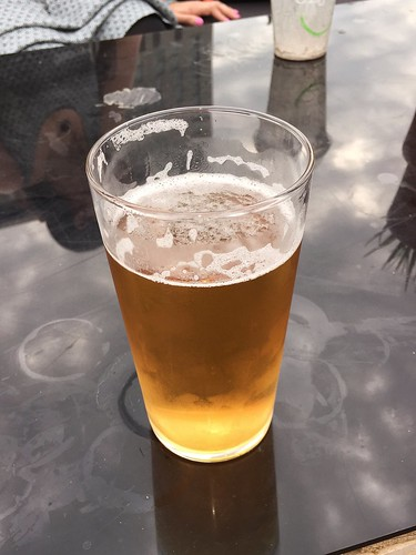 Today is all about...the cold beer just not refreshing me enough