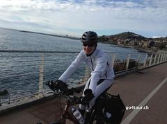 Top Radweg direkt am Meer