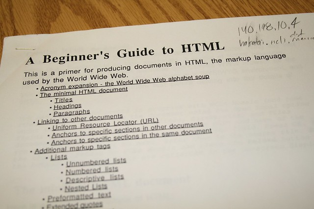 What is this HTML Stuff