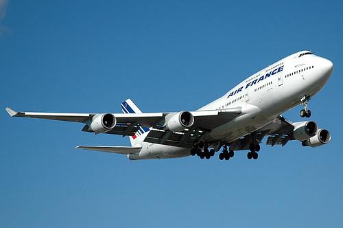 Air France 747-428 F-GITE