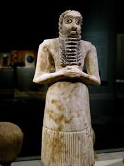 mesopotamia, iraq - sumerian figure
