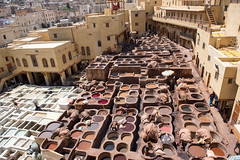 Chaouwara Tanneries at Fez