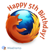 firefox 5 years old