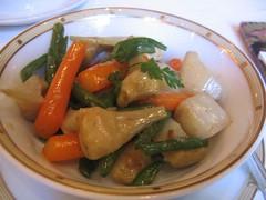 Roasted Artichokes and Veggies