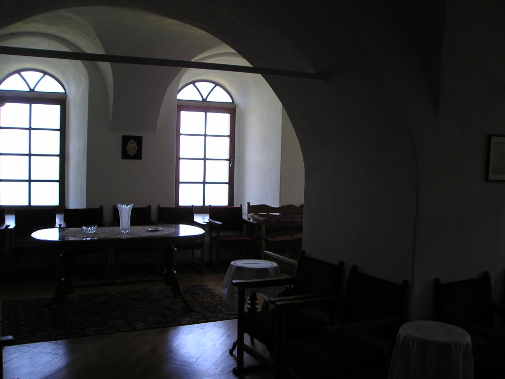 Reception room, Iviron
