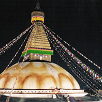 "Bodinath Stupa at Night <a style=""margin-left:10px; font-size:0.8em;"" href=""http://www.flickr.com/photos/36521966868@N01/4401465/"" target=""_blank"">@flickr</a>"