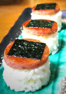 SPAM so fresh, you can eat it as sushi!