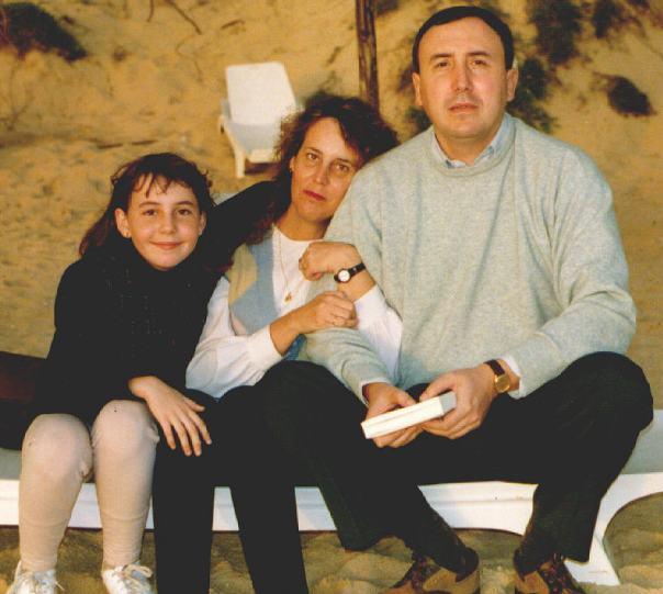 Familia Agirregabiria hacia 1995