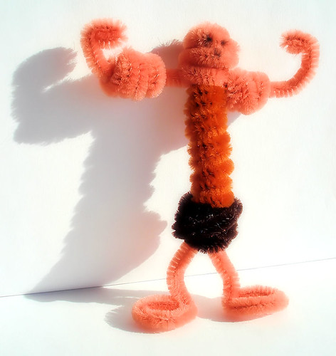 Pipe Cleaner Muscle Man by Bob.Fornal.