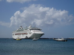 Cruise Ship Arriving in Fort-de-France