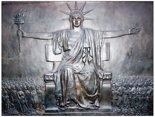 Lady Liberty Looks Pissed
