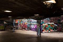 London Dec 2016 - Skate Park on the Banks