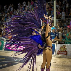 Day 657. Along with Venice and Río de Janeiro, the smallish city of Gualeguaychú has one of the largest carnavales in the world. Clubs parade intricately designed costumes and floats each weekend for fourteen weeks. I was lucky enough to stumble into Gual