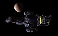 Starship Serenity from Firefly