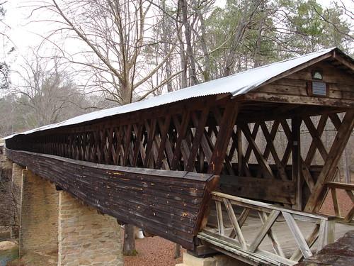 Clarkson Covered Bridge, Cullman County AL
