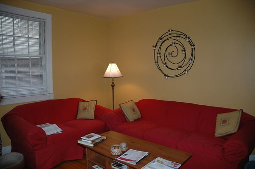 Newly Painted Living Room