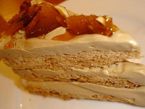 Coffee Merengue Cake