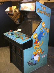 The Simpsons arcade game by Konami