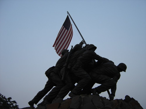 USMC Memorial - Iwo Jima Monument