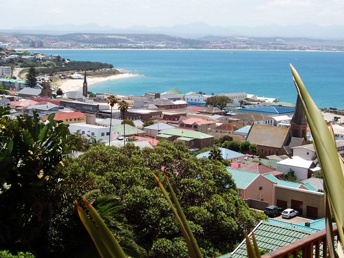 mossel bay from the balcony