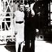 Portinari com sua irma Olga. Rio de Janeiro, 1937.