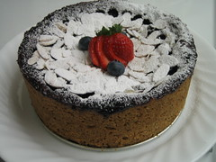 Mixed Berry Earl Grey Cake