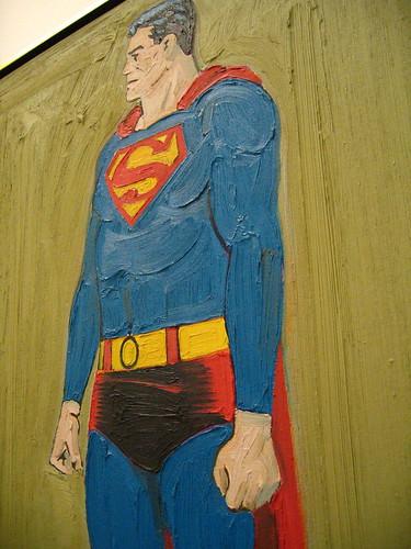 Superman on olive