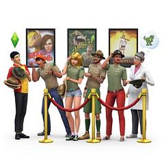 Les Sims 4 Jurassic park