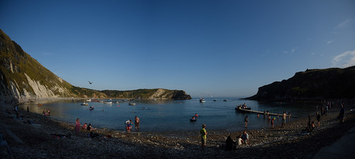 """Lulworth Cove Panorama • <a style=""""font-size:0.8em;"""" href=""""http://www.flickr.com/photos/96019796@N00/32874943011/"""" target=""""_blank"""">View on Flickr</a>"""