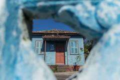 Azul da cor do lar