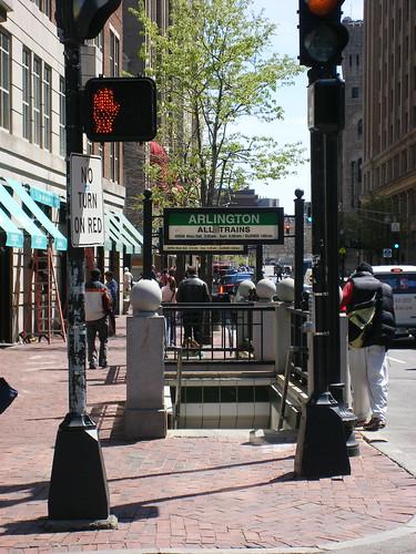 Arlington T, Boston