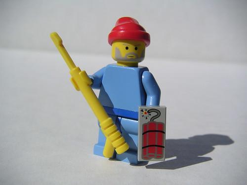 LEGO Life Aquatic Steve Zissou minifig