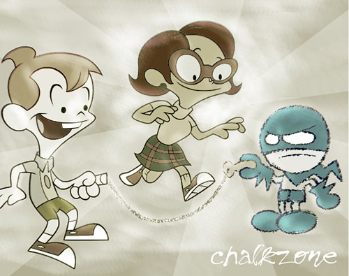 Chalkzone Cartoons Anime