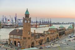 Hamburg: Landungsbrücken