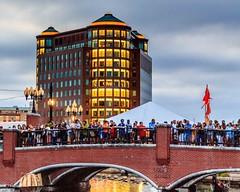 Audience on the Bridge