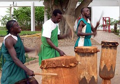 Burundi drummers
